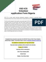 ICS Application Form