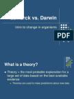 Lamarck vs Darwin Intro PPT