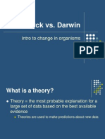 Lamarck vs Darwin Intro PPT