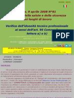 Safety-Sicurezza Sul Lavoro_verifica Idoneita Tecnica - Italy