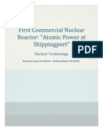 First Commercial Nuclear Reactor