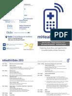 Mhealth2013 Program