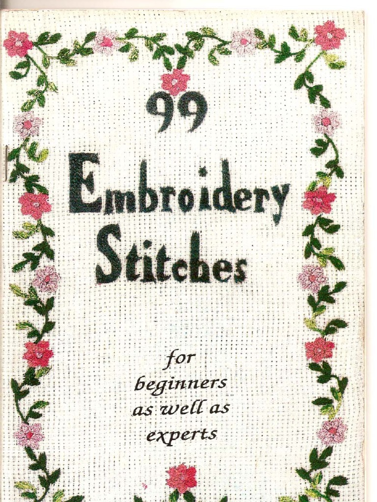 99 Embroidery Stitches