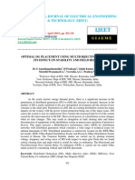 Optimal Dg Placement Using Multiobjective Index and Its Effect on Stability-2