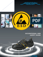 ESD shoes catalogue