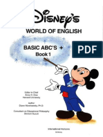 Disneys World of English Book 01