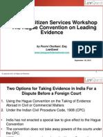 American Citizens Services Workshop