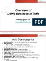 An Overview of Doing Business in India - HR College