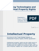 Emerging Technologies and IPR