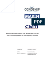 IMO EEDI General Cargo Vessels Report