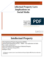 Intellectual Property Rights Implications on Social Media - Vidhi