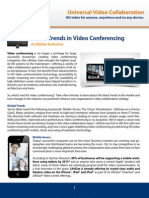 Latest Trends in Videoconferencing