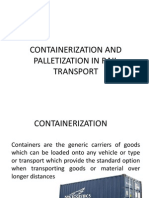 Containerization in Rail