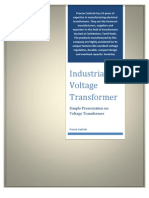 voltage transformer pdf