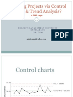 Managing Projects via Control Charts & Trend Analysis