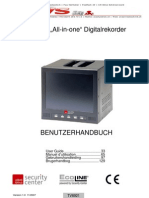 """Manual / MJPEG """"All-in-one"""" Digitalrekorder mit eingebautem 8"""" TFT Display"""