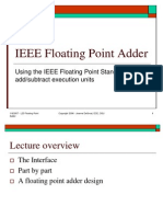Lect 2b -IEEE Floating Point Adder Arch