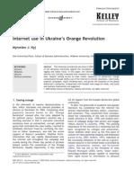 Internet Use in Orange Revolution