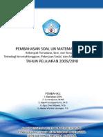 Soal Bahas UN 2010 SMK