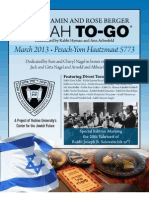 Pesach to Go - 5773