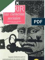 Wallerstein Immanuel - Abrir La Ciencias Sociales