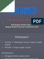 k.27 Peritonitis