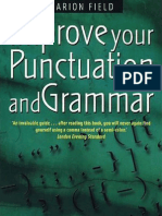 Improve Yout Punctuation and Grammar