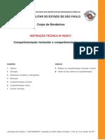 BOMBEIRO - COMPARTIMENTAÇÃO - INSTRUCAO_TECNICA_09-2011