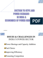 Power Scenario of India-final -2012