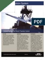 ESSM - Evolved Sea Sparrow Missile Propulsion System