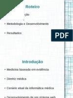 Sistema RGM para evolução de diretrizes médicas