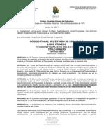 Codigo Fiscal Del Estado de Chihuahua