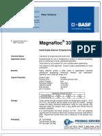 Chemicals Zetag DATA Powder Magnafloc 338 - 0410