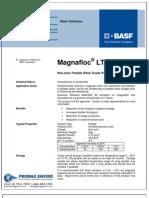 Chemicals Zetag DATA Powder Magnafloc LT 20 - 0410