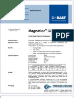 Chemicals Zetag DATA Powder Magnafloc 370 - 1110