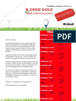 Ieper Open Golf DCM Junior Academy.
