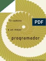 El Camino a Un Mejor Programador