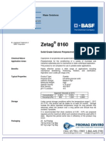Chemicals Zetag DATA Powder Zetag 8160 - 0410