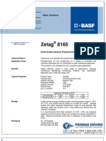 Chemicals Zetag DATA Powder Zetag 8165 - 0410