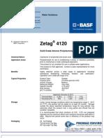 Chemicals Zetag DATA Powder Zetag 4120 - 1110