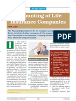 Accounting of Life Insurance Companies Txt