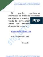 0HI 090112 Información Por Correo