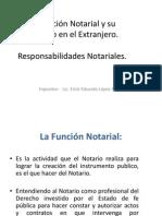 3. La Función Notarial y su Ejercicio en el Extranjero (1)
