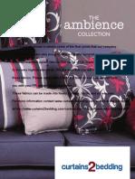 Ambience_Brochure Flame Retardant Curtain Fabric. Images of FR Curtain Fabrics