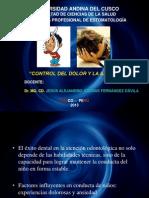 7.- Control Del Dolor y La Ansiedad