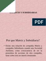 Presentacon Matrices y Subsidiarias Local