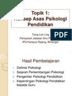 Konsep Asas Psikologi Pendidikan