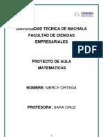 Proyecto Mercy Ortega