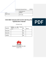 04 GSM BSS Network KPI (TCH Call Drop Rate) Optimization Manual