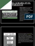 Reforma Agraria en El Paraguay